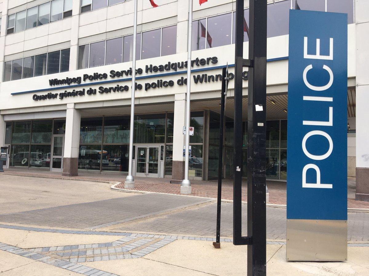 Winnipeg Police Service HQ.