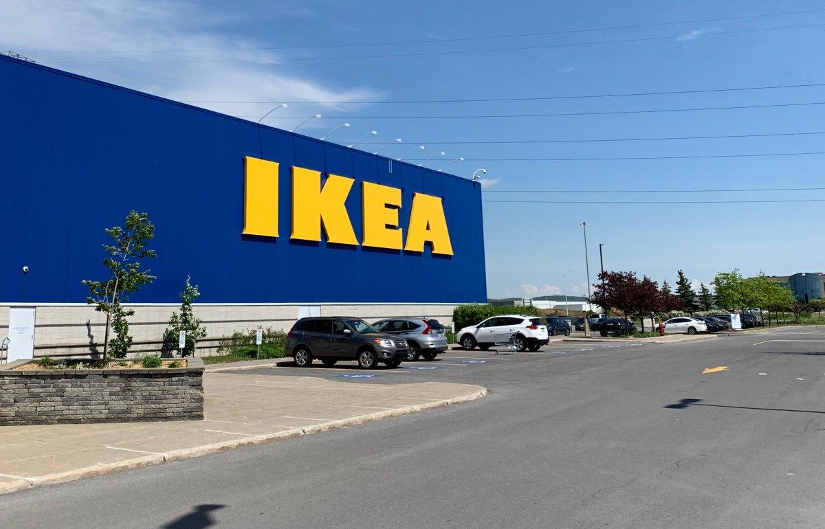 An Ikea store in Boucherville, Que.