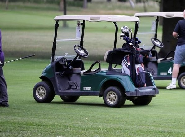 A man is facing charges after allegedly crashing a golf cart at a club in Port Hope, Ont.