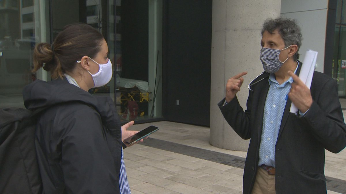 Microbiologist and infectious disease expert Amir Khadir is one of about 30 doctors calling for the province to make the use of masks mandatory. Thursday June 11, 2020.
