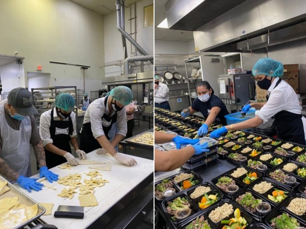 prince harry meghan markle prep meals with ex gang members during covid 19 pandemic national globalnews ca prince harry meghan markle prep meals