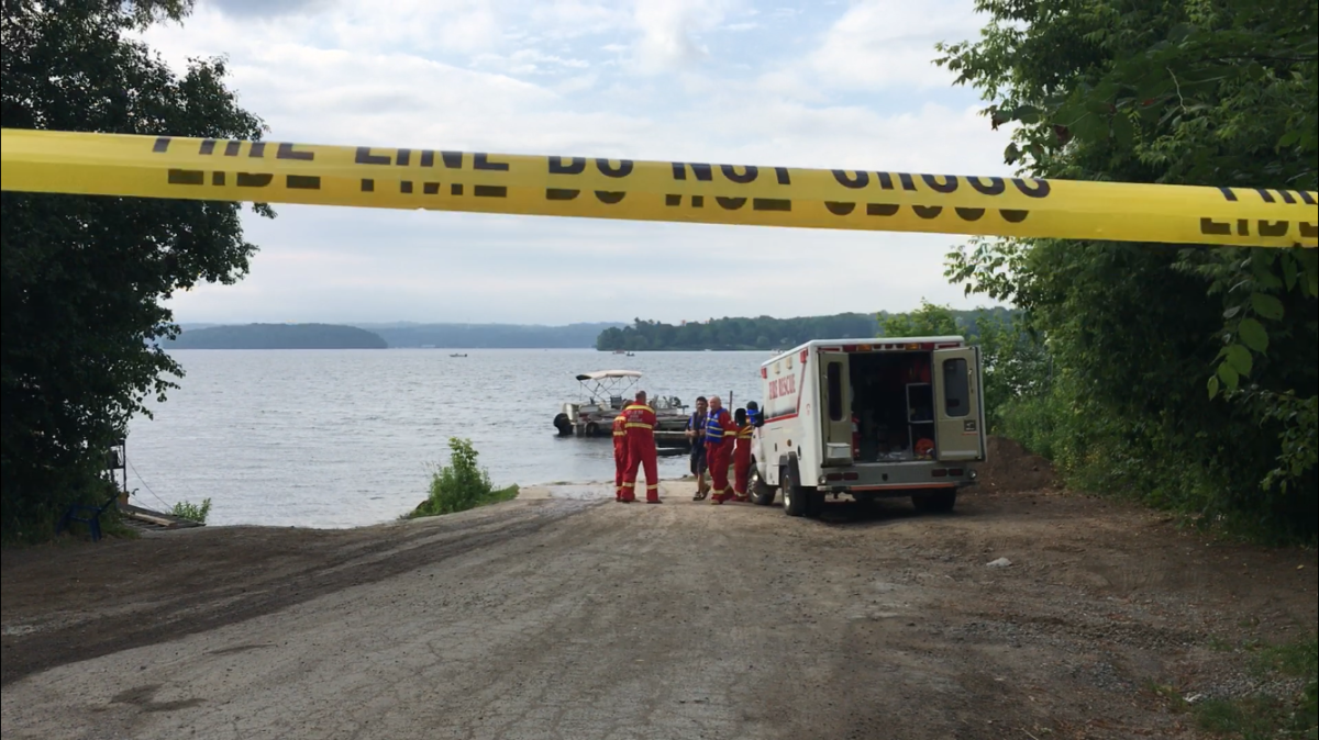 One person is unaccounted following an incident on a boat on Rice Lake south of Peterborough on Saturday morning.