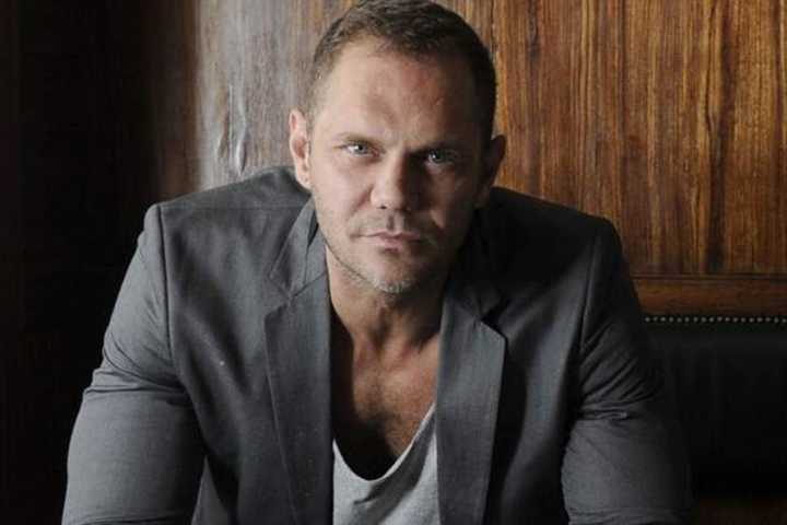 Porn performer Nacho Vidal, 46, is shown in this image from his website.