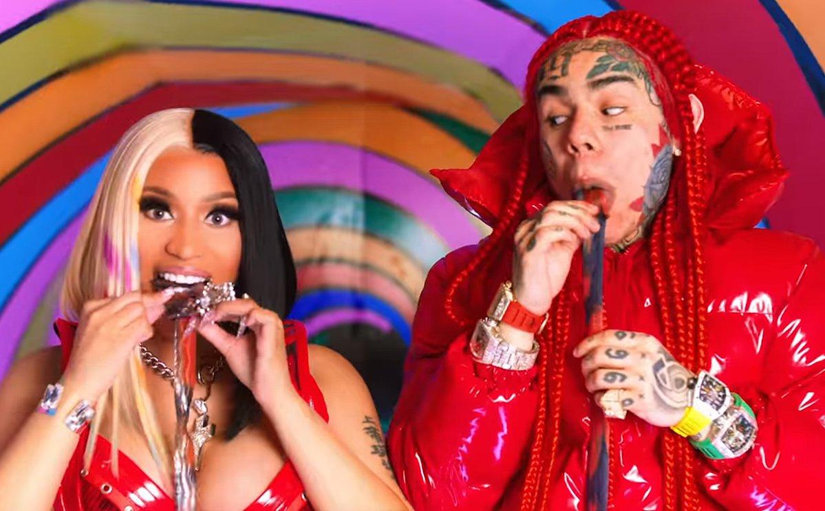 Tekashi 6ix9ine Nicki Minaj Drop Trollz Proceeds Going To Bail Project National Globalnews Ca