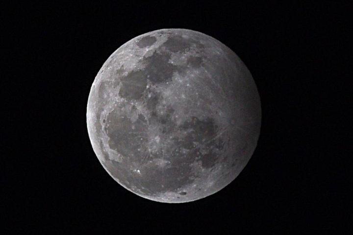 Blood moon monolith
