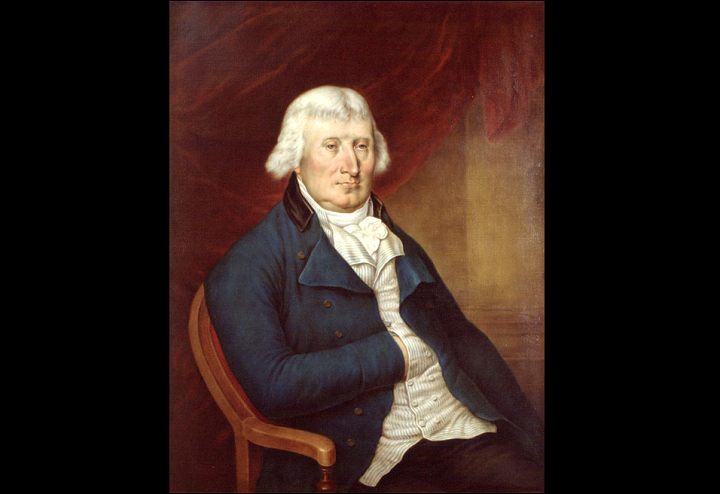 Peter Russell, an 18-century government official who delayed the abolition of slavery.