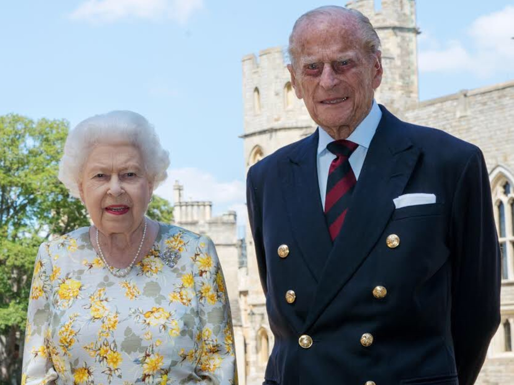 The Queen and Prince Philip posed for a new portrait together to make the prince's 99th birthday on June 10, 2020.