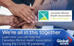 Continue reading: 'This is an extreme': Canadian Mental Health Association adjusts amid coronavirus pandemic