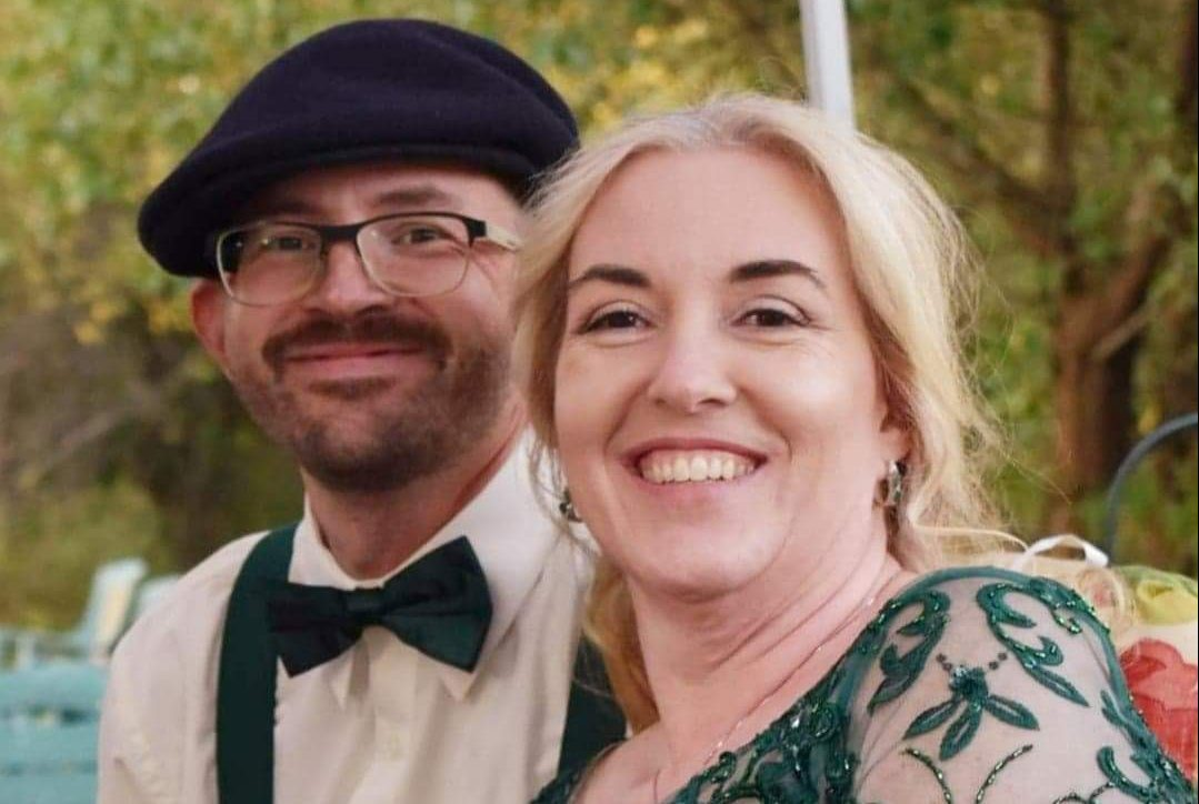 Carrie and Joe Harshberger are in a long-distance relationship. They haven't seen each other for six months because of coronavirus travel restrictions.
