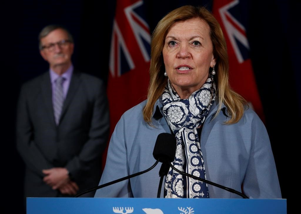 """Ontario Health Minister Christine Elliott says up to 60 transitional care beds will be built as a wing at St. Joseph's Villa is """"transformed.""""."""