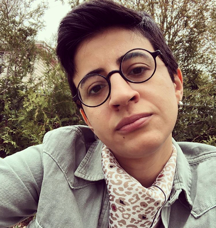 Hegazi rose to prominence in October 2017 when she was arrested after raising the LGBT+ rainbow flag at a concert by popular Lebanese alternative rock band Mashrou'Leila band whose lead singer Hamed Sino is openly gay.