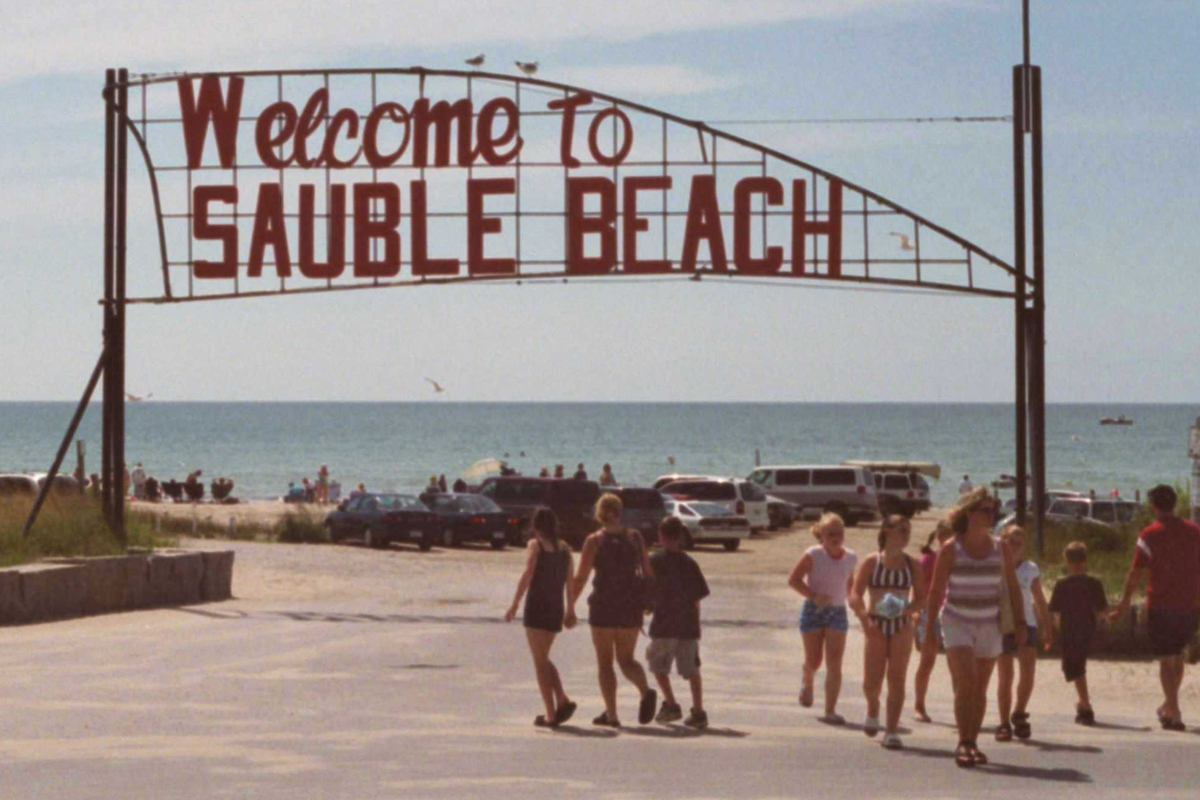 Sauble Beach reopened for the second time on July 3 after closing down around Victoria Day.