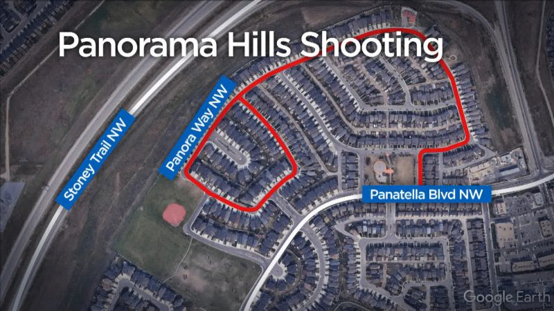 Calgary police were called to the 200 block of Panora Way Northwest on Thursday, June 18, 2020 for reports of shots fired.