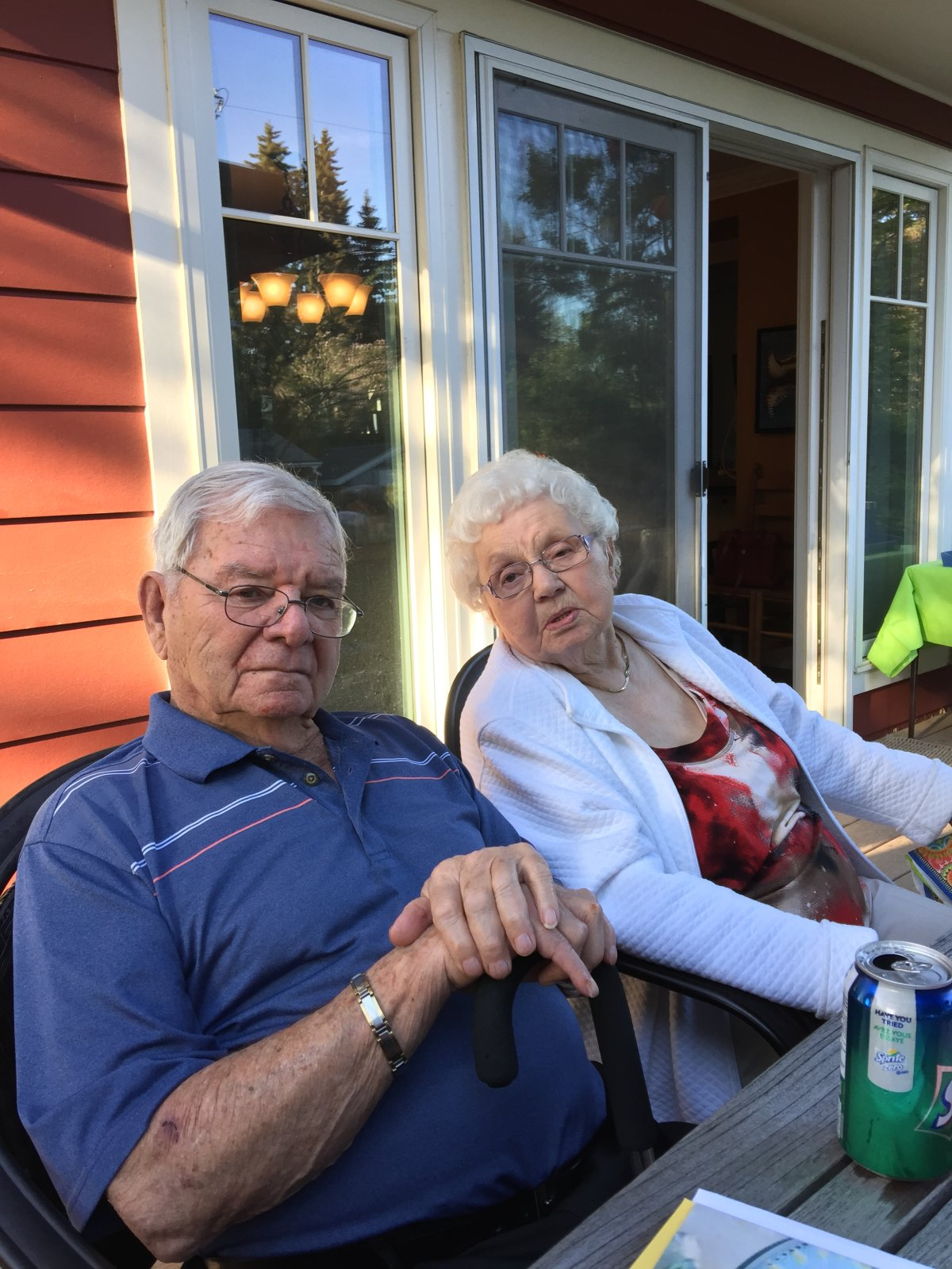 Michael's parents, Wolfgang and Margarete Sondermann.