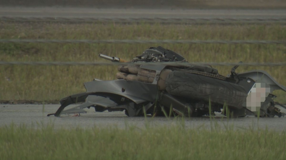 A man was killed in a motorcycle crash in Calgary on Saturday, June 27, 2020.