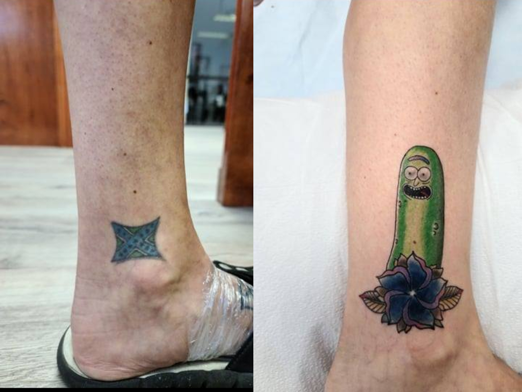Kentucky's Gallery X Art Collective is offering tree tattoo cover-ups for anyone with hate-related art on their body.