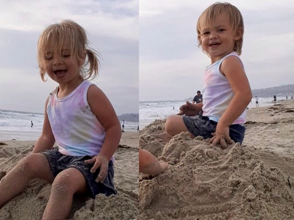 A man has been arrested after driving his truck, with his twin daughters inside, over California's Sunset Cliffs into the Pacific Ocean.