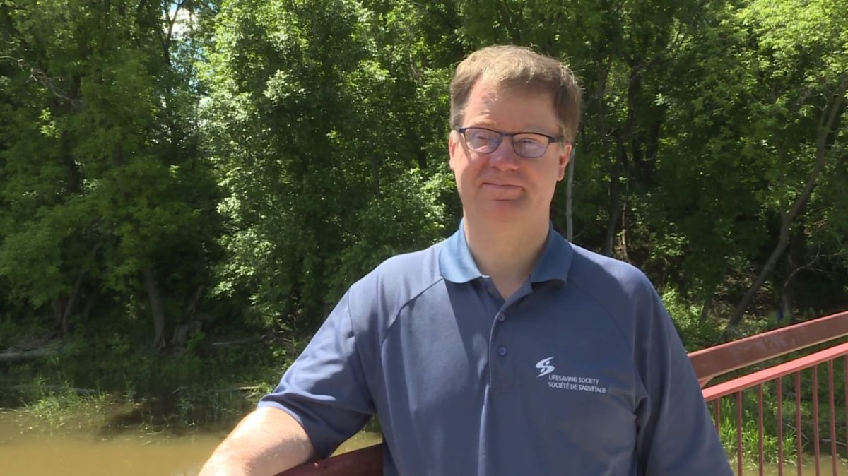Dr. Christopher Love, the safety management coordinator for the Lifesaving Society of Manitoba.