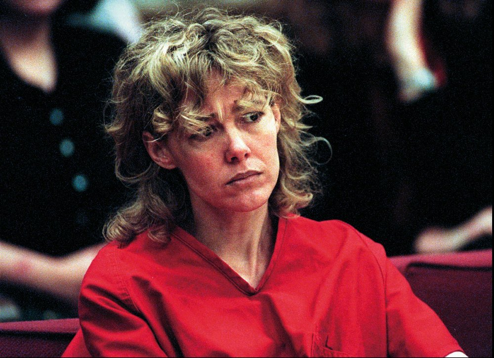 In this Feb. 6, 1998, file photo, Mary Kay Letourneau listens to testimony during a court hearing in Seattle Letourneau, who married her former sixth-grade student after she was convicted for raping him, has died.