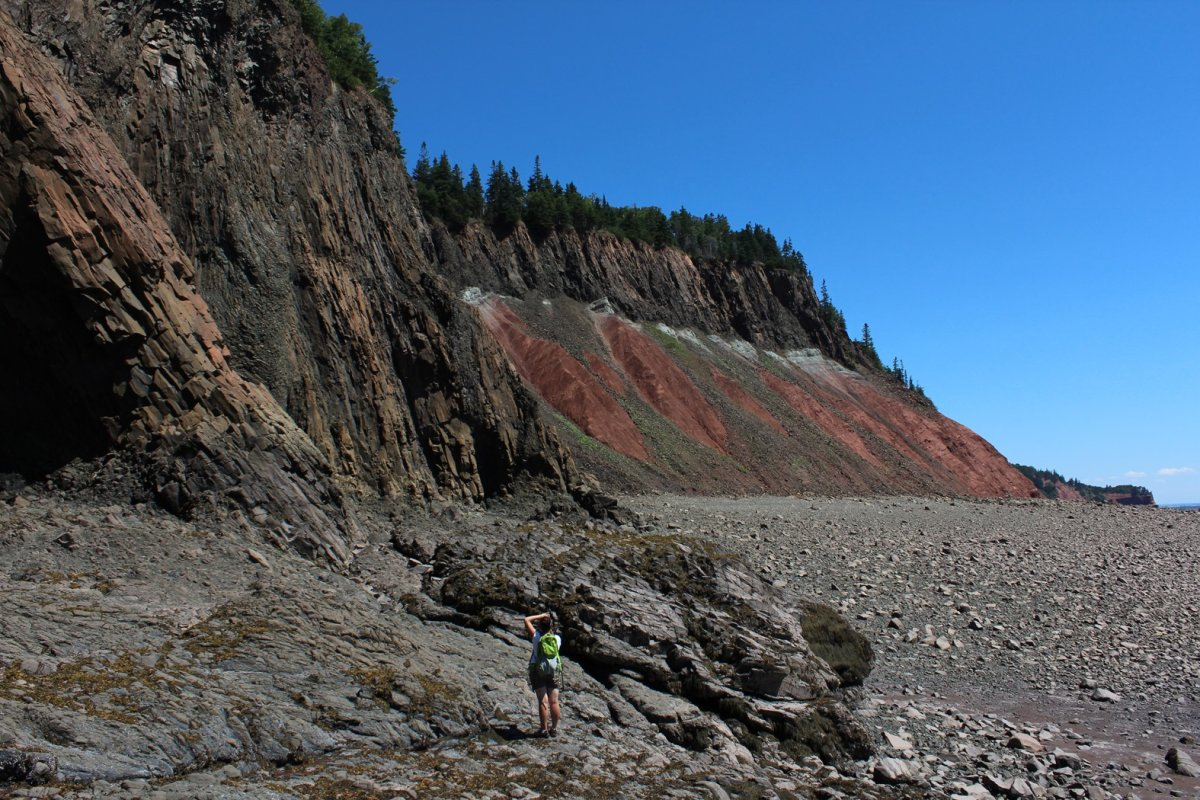 Cliffs of Fundy Geopark.
