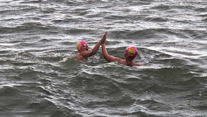 Five women are swimming 90 kilometres in Last Mountain Lake to raise money for the YWCA in Regina.