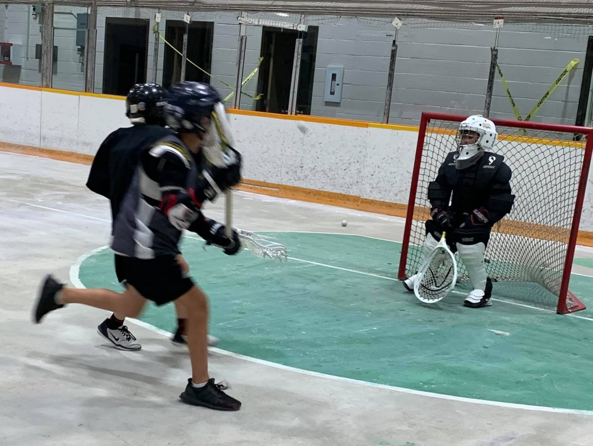 Box lacrosse has returned to Saskatoon after being put on hiatus by the COVID-19 pandemic.