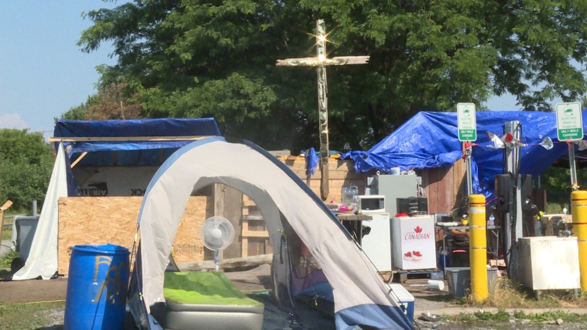 The city says they will aim to slowly transition Belle Park campers out of the park, rather than force them to leave on Friday.
