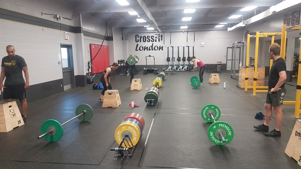 crossfit london gym