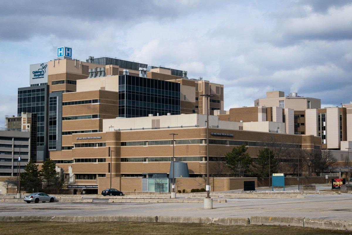 London Health Sciences Centre's Victoria Hospital in April 2018.
