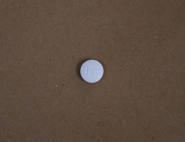One of the pills police say they seized from an individual at London airport in March.