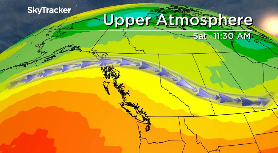 A building ridge of high pressure returns the Okanagan to heat the region this weekend.