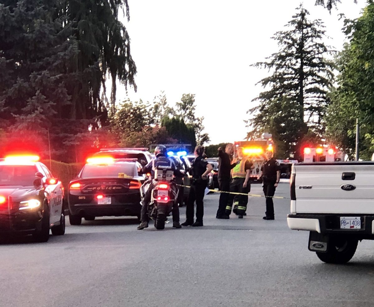 Abbotsford Police investigating a deadly shooting on Lucern Crescent on Friday, July 10.