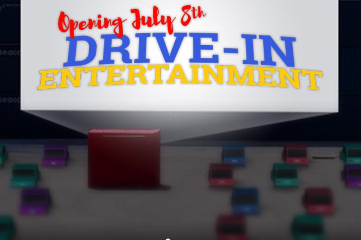 The drive-in at Bingemans will open July 8.
