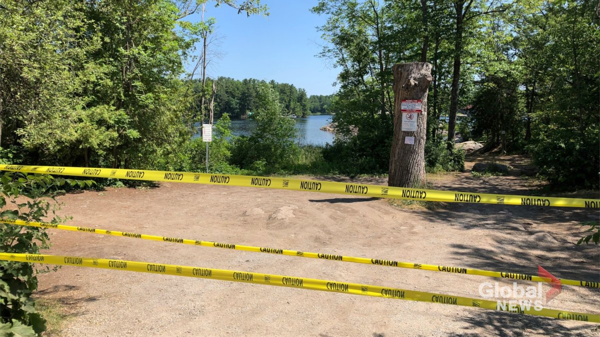 Crown land access at Burleigh Falls was closed on July 9.