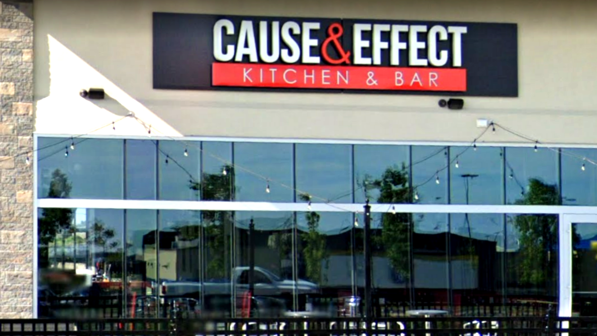 Cause and Effect kitchen and bar, on Hamilton's mountain, says a patron with COVID-19 was on site Saturday July 25 between 8 p.m. and midnight.