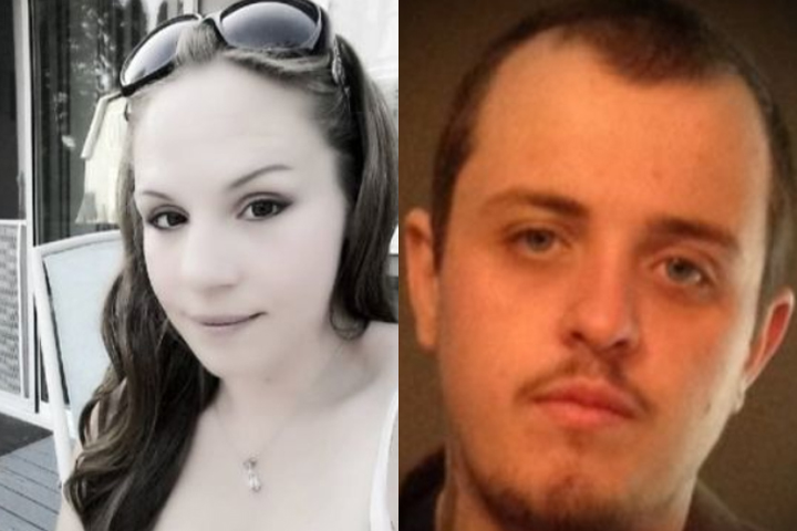 Jessica Lewis, right, and Andrew 'Cash' Wenner are shown in this handout photo.