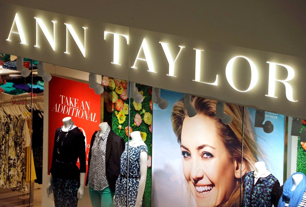 This March 5, 2013 file photo shows an Ann Taylor store in Mount Lebanon, Pa. The parent company of Ann Taylor, Loft and Justice says it will close all of its stores in Canada.