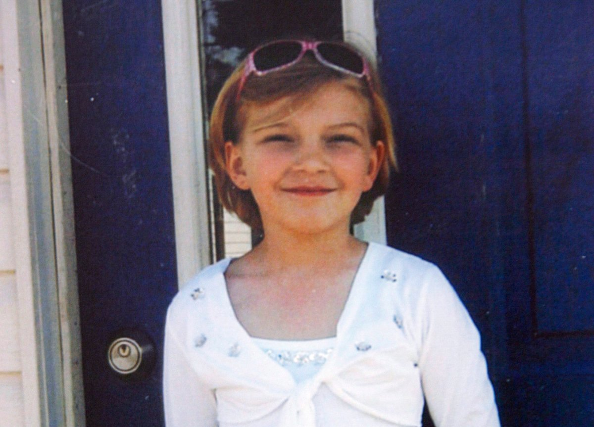 """FILE -- Victoria """"Tori"""" Stafford, 8, is shown in this photo copied from a poster, in Woodstock, Ont. on April 10, 2009."""