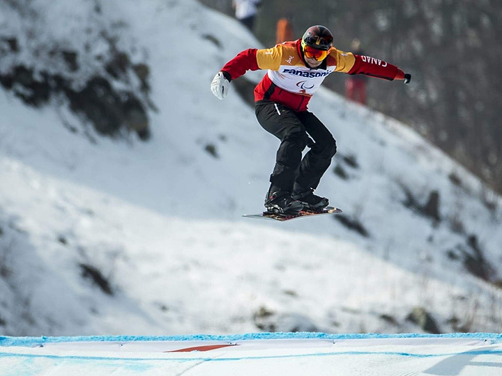 Curt Minard of Vernon represented Canada at the 2018 Paralympic Winter Games in South Korea, where he posted two top-10 finishes.