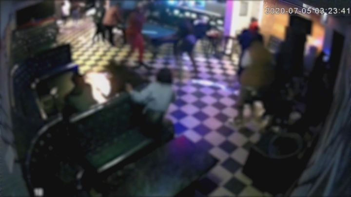Police have released video of a shooting at a downtown Edmonton nightclub earlier this month hoping someone will be able to identify the suspects involved.