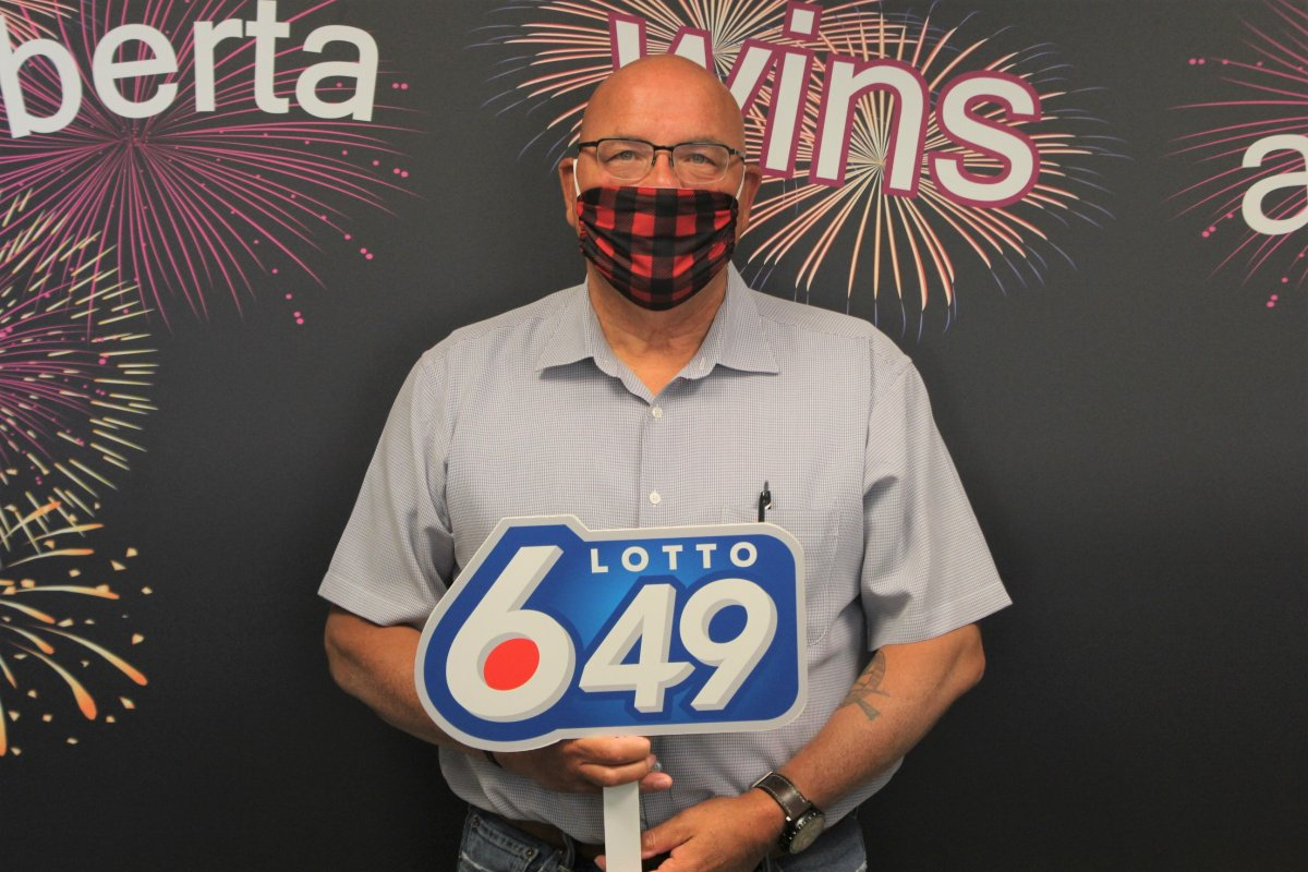 Albert Fleury claimed a $6 million prize after purchasing a winning Lotto 6/49 ticket in April 2020.