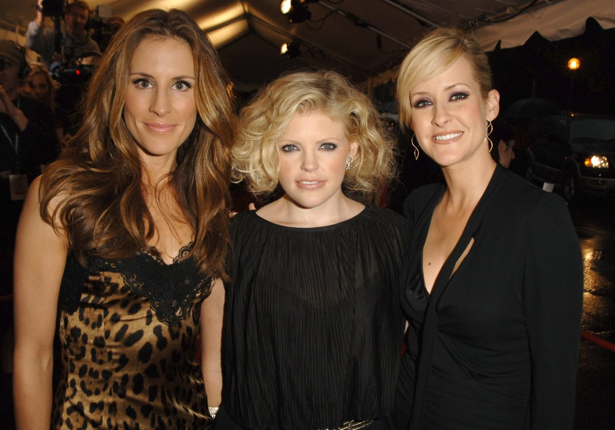 Emily Robison, Natalie Maines and Martie Maguire of The Chicks.