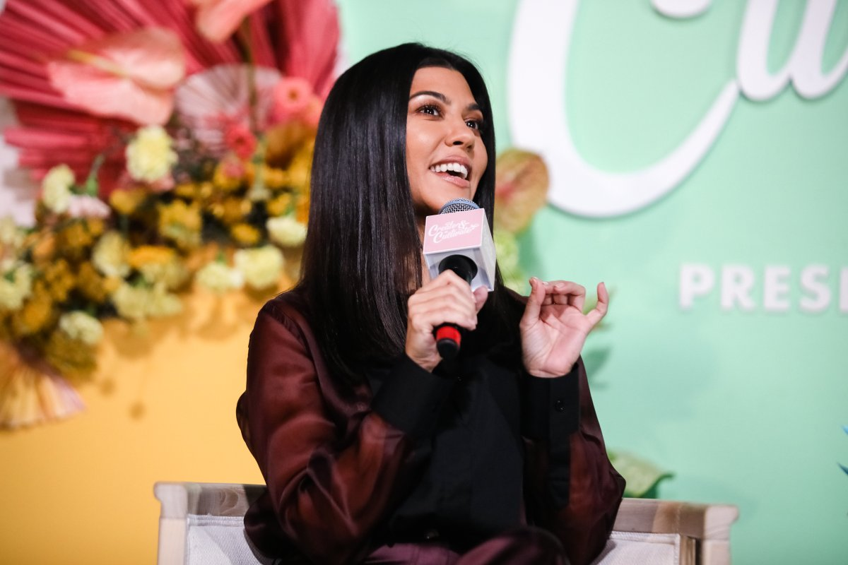 CEO and founder of Poosh Kourtney Kardashian speaks on stage at the Create & Cultivate Conference at SVN West on Sept. 21, 2019 in San Francisco, Calif.