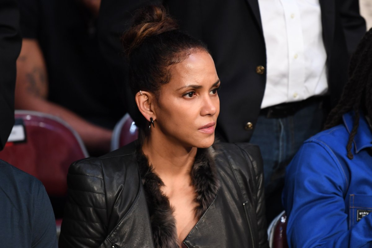 Actor Halle Berry is seen in attendance during the UFC 247 event at Toyota Center on Feb. 8, 2020 in Houston, Texas.