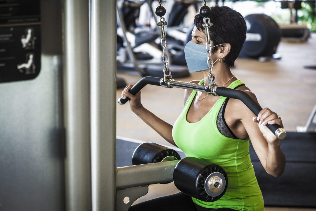 Experts say working out can help overcome mental health challenges as the coronavirus pandemic continues into the fall and winter months.