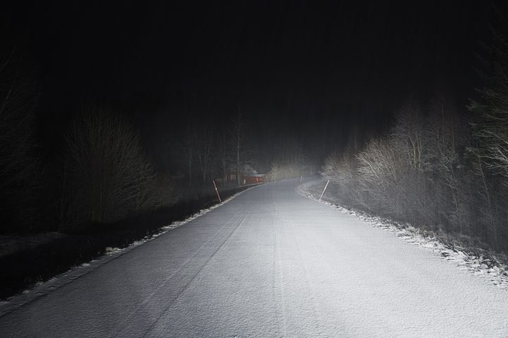 A file photo of an empty road.