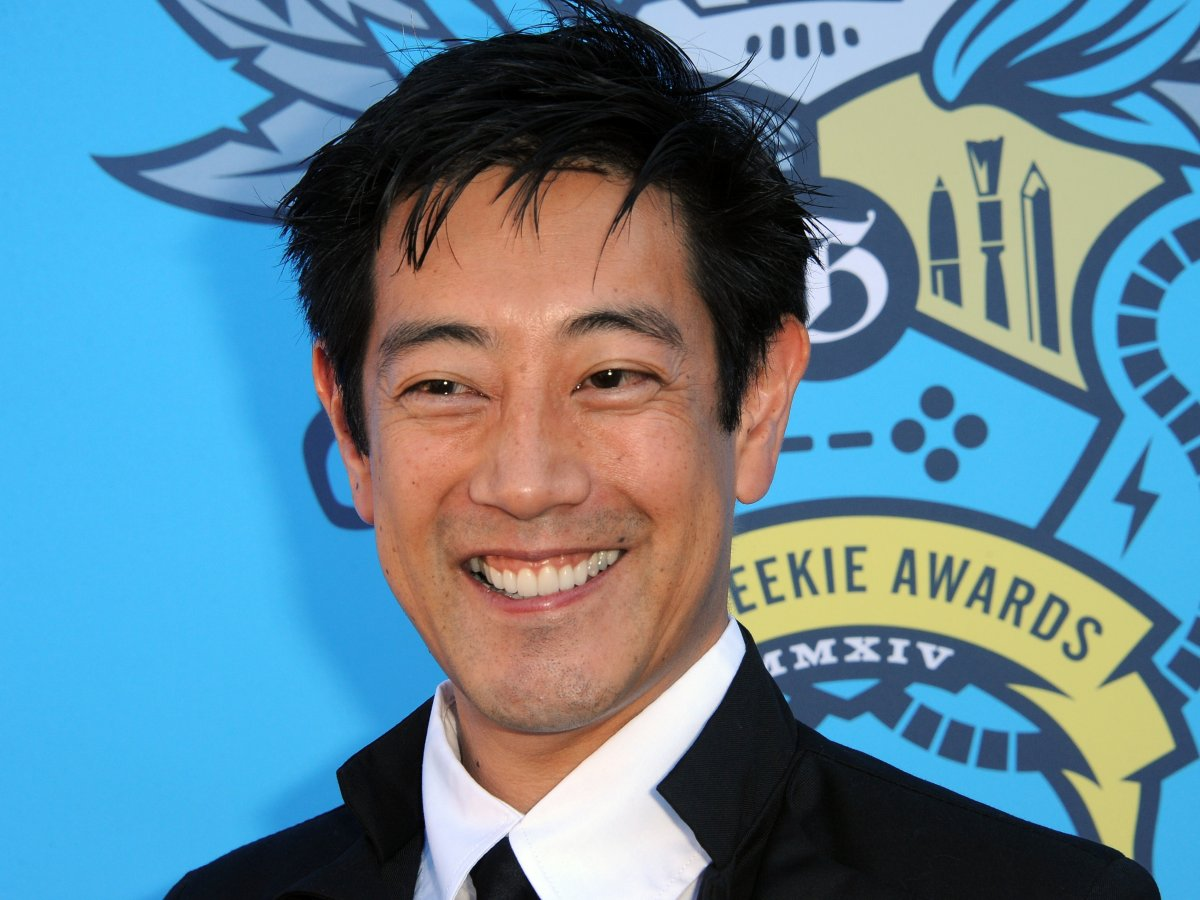 Grant Imahara arrives for The Geekie Awards 2014 held at Avalon on Aug. 17, 2014 in Hollywood, Calif.