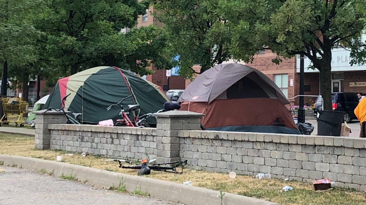 Ontario's superior court has granted an injunction which prevents the city of  Hamilton from dismantling homeless encampments at least until after the first week of August 2020.