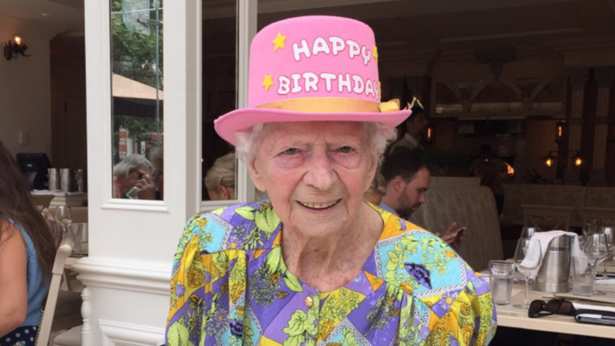 Hamilton resident Ann Konkel celebrated her 105th birthday on Tuesday and is hoping to collect 105 birthday cards as she continues a stay St. Joseph's hospital.