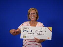 Continue reading: Ontario retired nurse celebrates $150,000 lottery win